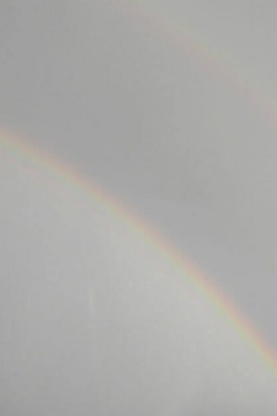 Create a simple Bible reading plan. Image of a double rainbow.