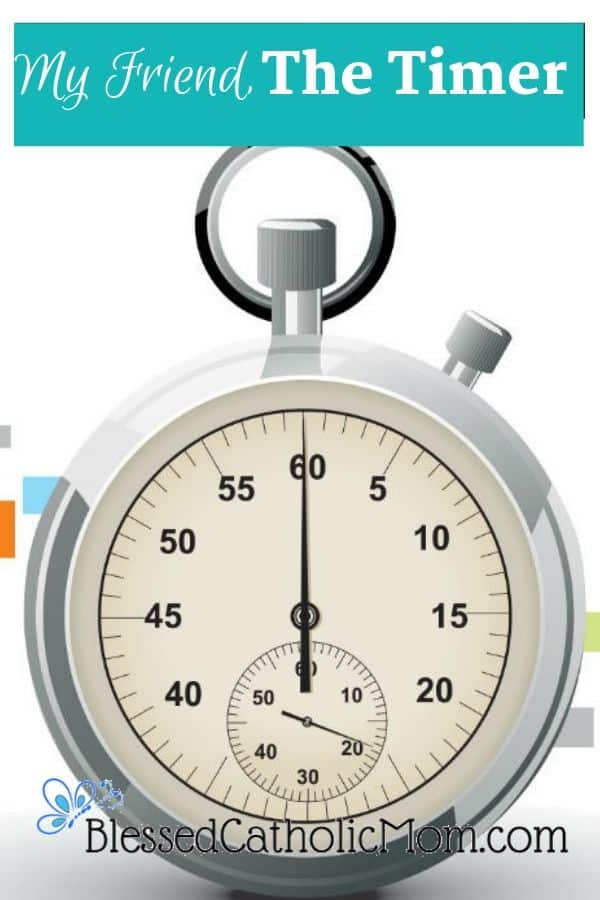 Image of a stopwatch timer.
