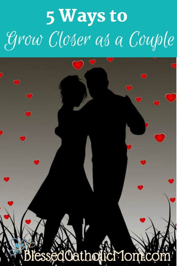 You can grow closer as a couple. It is possible and worth the effort! Image of silhouette of a couple dancing.