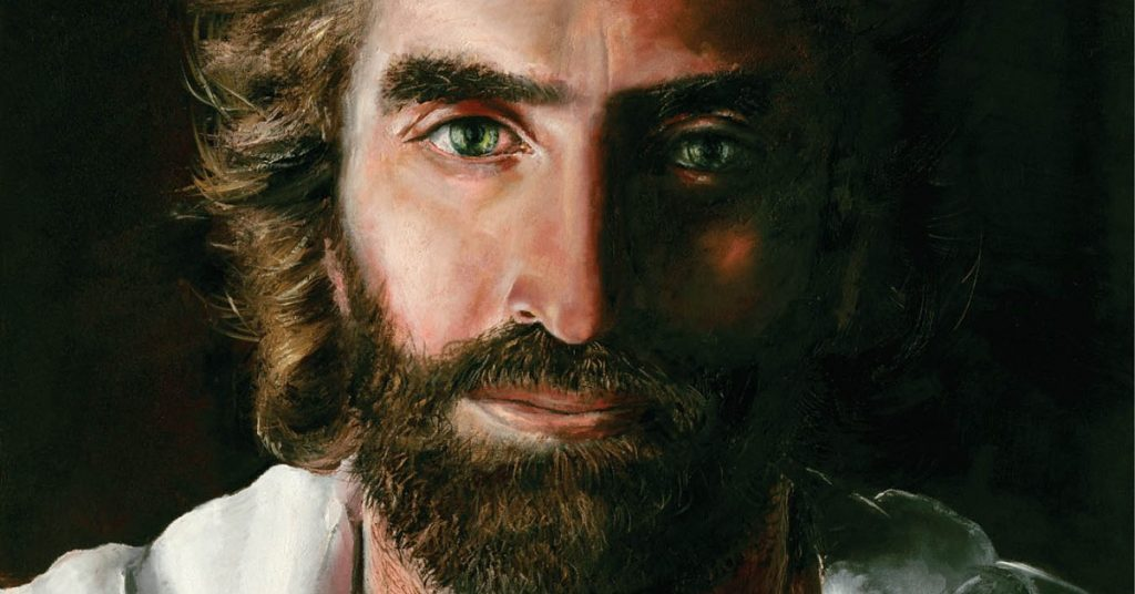 Image of Jesus Christ painted by Akiane.